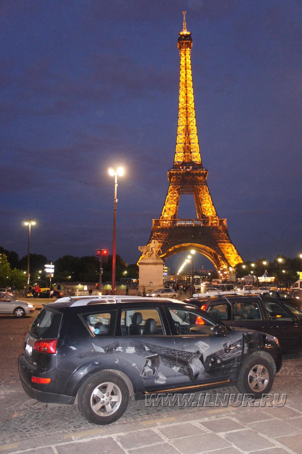 моя аэрография в Париже